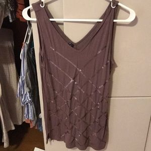 Tops - Maurice's sequin cami